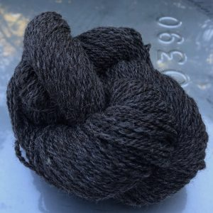 Dark Grey Natural Blend Skein