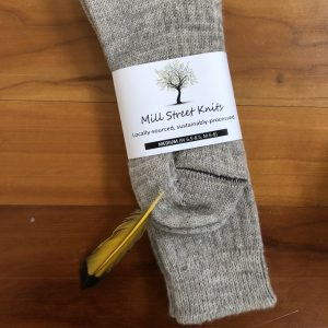 Machine Knit Socks - Medium