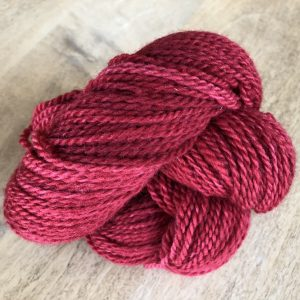 Red Susan B Anthony Skein