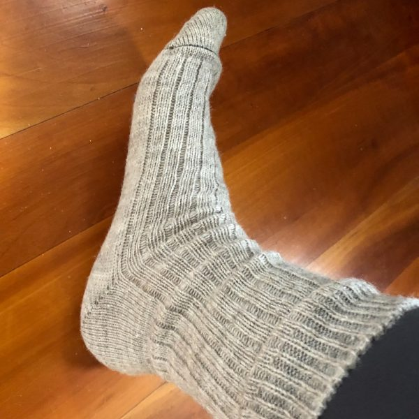 Machine Knit Socks - XL