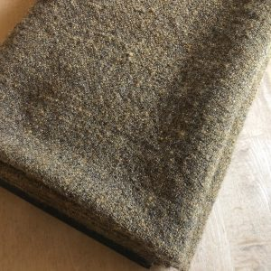 Golden Brown Hand-woven wool yardage