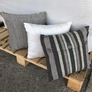 Handwoven Striped Pillow Covers & Inserts