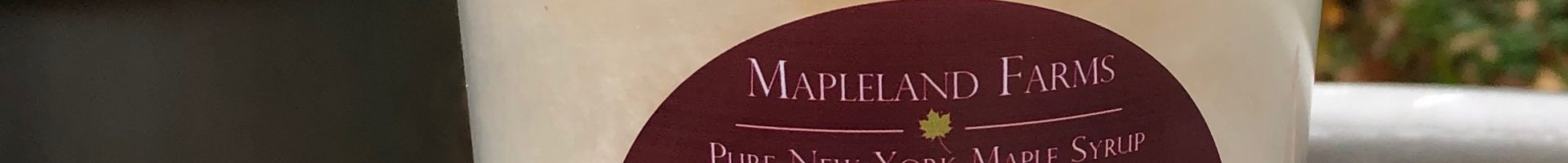 Maple Cotton Candy – Small