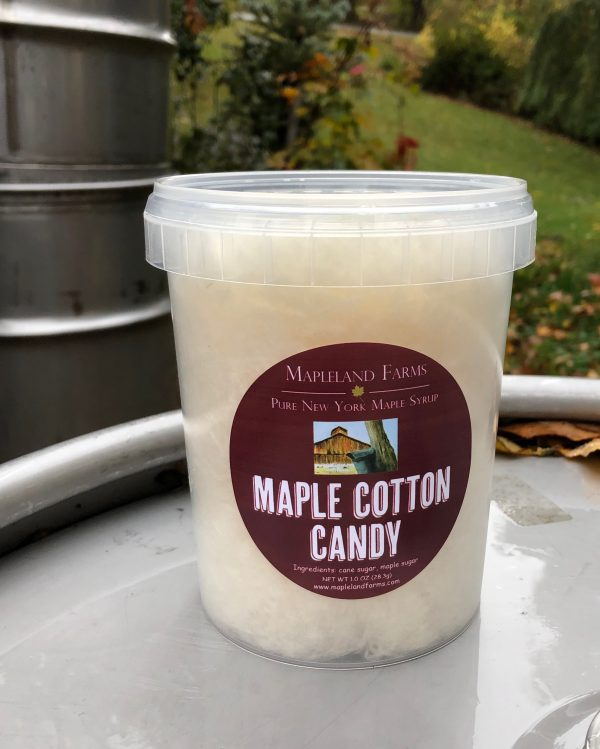 1oz Maple Cotton Candy
